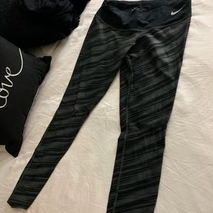 High waist Nike dry fit workout pants